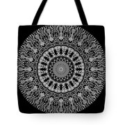 New Vision Black And White Tote Bag