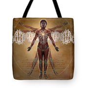 New Vitruvian Woman Tote Bag