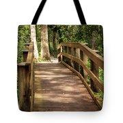 New Wood Bridge Park Trail Tote Bag