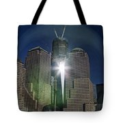 New World Trade Center Tote Bag by David Smith