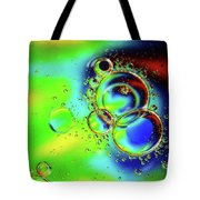New Year Bubbles Tote Bag