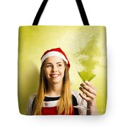 New Year Christmas Party Tote Bag