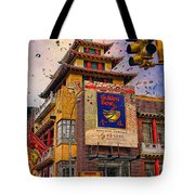 New Year In Chinatown Tote Bag