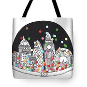 New Year Tote Bag