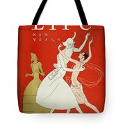 New Year: Magazine Cover Tote Bag