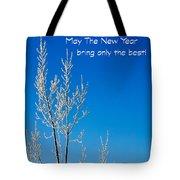 New Year Wish Tote Bag