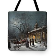 New Years Eve, C1876 Tote Bag by Granger