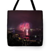 New Year's Eve Fireworks  Tote Bag