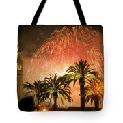 New Years Fireworks Finale San Francisco Tote Bag