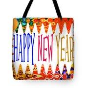 New Year's Greetings Tote Bag