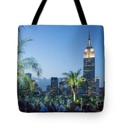 New York 230 Fith Rooftop Bar  Tote Bag