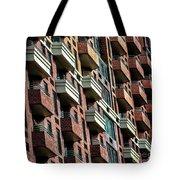 New York Apartments  Tote Bag