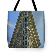 New York Architecture Render Tote Bag