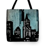 New York Art Deco Tote Bag