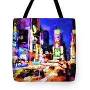 New York At Night - 15 Tote Bag