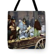 New York: Banana Cart Tote Bag