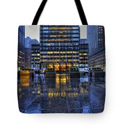 New York Blues Tote Bag