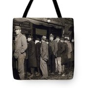 New York: Bread Line, 1907 Tote Bag