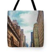 New York Buildings Tote Bag