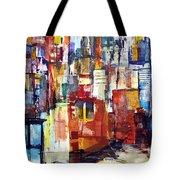 New York Cab Tote Bag