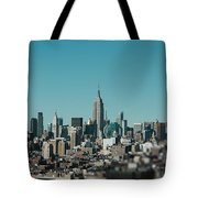 New York City Blues Tote Bag