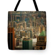 New York City Buildings And Skyline Tote Bag