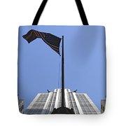 New York City - Chrysler Building 003 Tote Bag