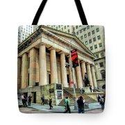 New York City Federal Hall Tote Bag