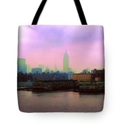 New York City From Hoboken Tote Bag
