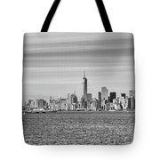 New York City From The Staten Island Ferry Tote Bag