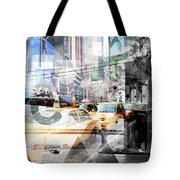New York City Geometric Mix No. 9 Tote Bag