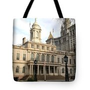 New York City Hall Tote Bag