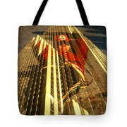 New York City Jogger - Collage Tote Bag