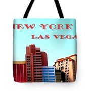New York City- Las Vegas Tote Bag