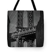 New York City - Manhattan Bridge Tote Bag
