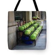 New York City Market Tote Bag