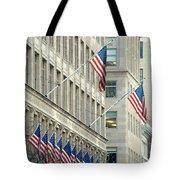 New York City Patriotism Tote Bag