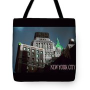 New York City Poster - Wall Street Tote Bag