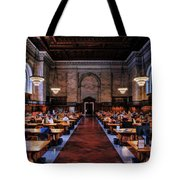 New York City Public Library Rose Reading Room Tote Bag