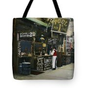 New York City Restaurant Tote Bag