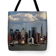 New York City Skyline 4 Tote Bag