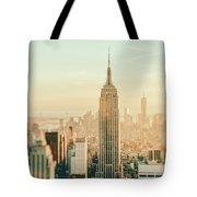 New York City - Skyline Dream Tote Bag by Vivienne Gucwa