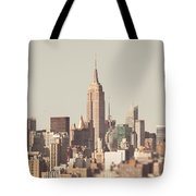 New York City Skyline II Tote Bag