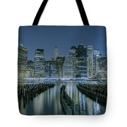 New York City Skyline Tote Bag