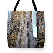 New York City St. Patrick's Cathedral Tote Bag