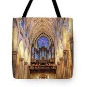 New York City St Patrick's Cathedral Organ Tote Bag