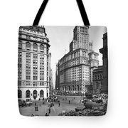 New York City Street Scene Tote Bag