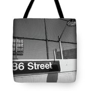 New York City Subway 86 Street Tote Bag by Ranjay Mitra