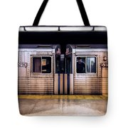 New York City Subway Cars Tote Bag