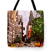 New York City Taxis Tote Bag